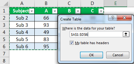 Excel Interview - Question 3