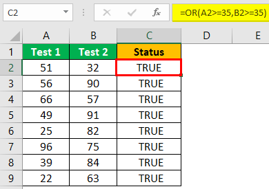 Excel Interview - Question 4 (OR Function)