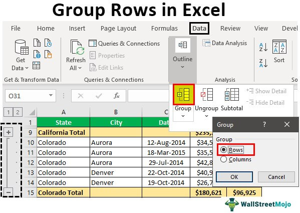 Group-Rows-in-Excel