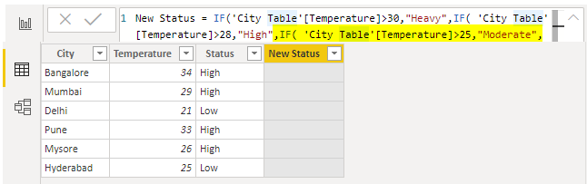 Power BI IF - IF Condition - Moderate