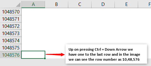 Rows & Columns in Excel - Example 1-2