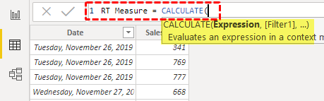 Running Total in Power BI - Step 4