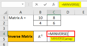 Shift Enter in Excel Example 3.2