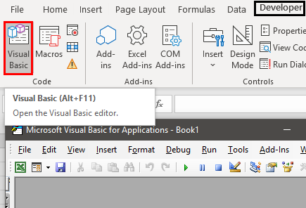 Uses of Excel Example 1.12