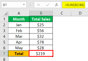 Uses of Excel Example 1.2