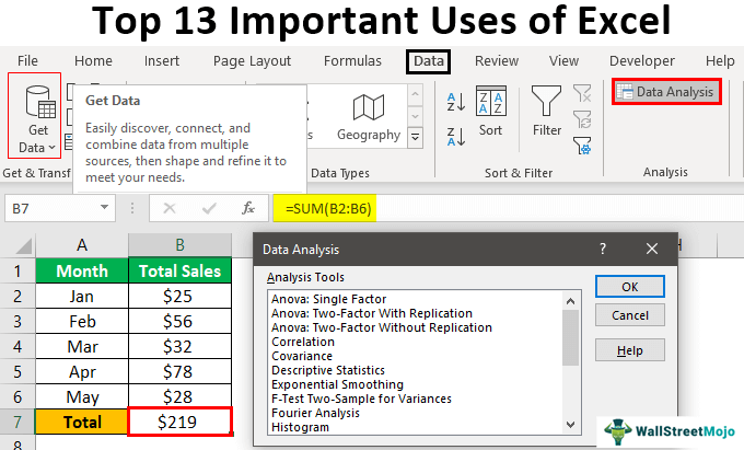 Uses-of-MS-Excel