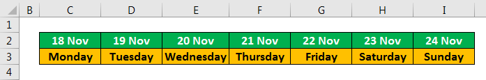 Weekly Planner Template - Example 2.4