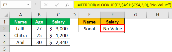 Excel Troubleshooting Example 1-1