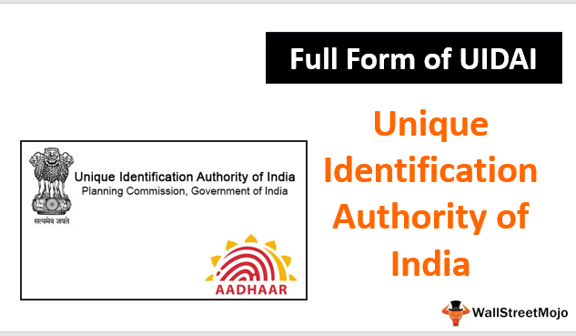 Full Form of UIDAI