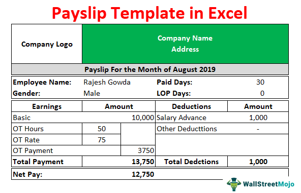 Pay-Slip-Template-in-Excel