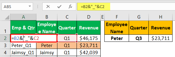 Unique Lookup Value - Example 1