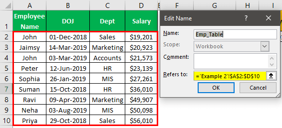 VLOOKUP Names Example 2.11.0