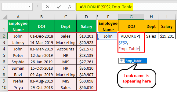 VLOOKUP Names Example 2.7.0