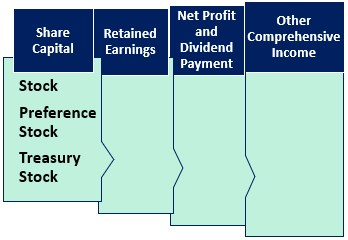 components of stockholder's equity statement