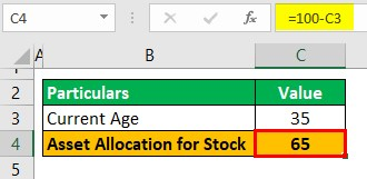Asset Allocation Example 1