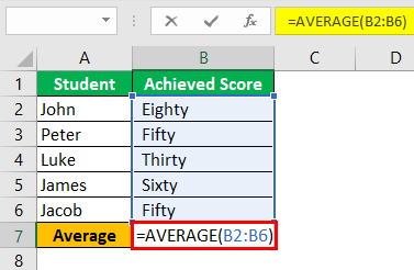 Div0 Error in Excel Example 3