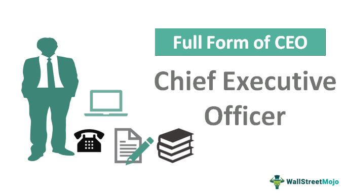 Full Form of CEO