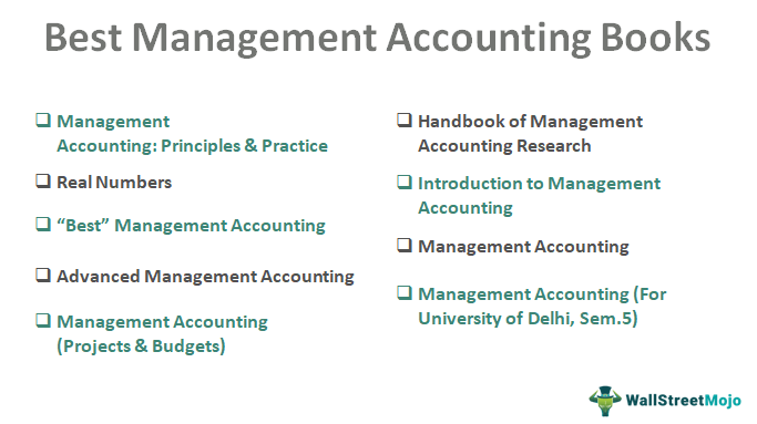Management Accounting Best Books