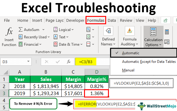 Excel-Troubleshooting