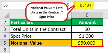 Notional Value Example 2