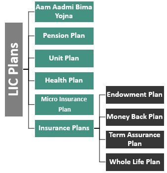Types of Plans in LIC