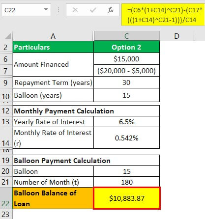 Owner Financing Example 1.4
