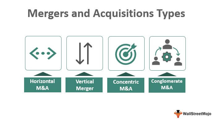 Mergers and Acquisitions Types