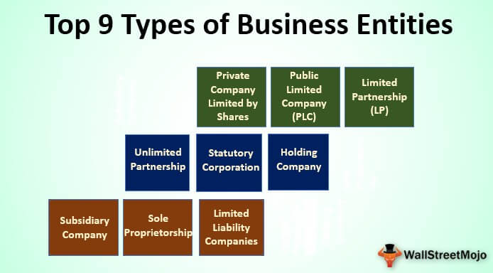 Types of Business Entities