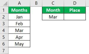 VBA Application match Example 1