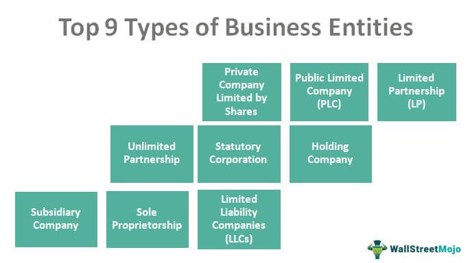Business Entities Types