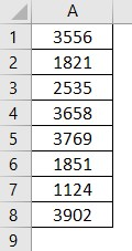 VBA Row Count Example 1
