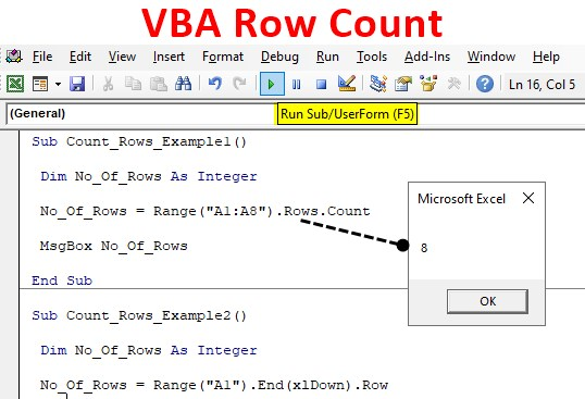 VBA Row Count