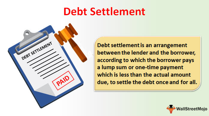 Debt Settlement - Definition, Examples, How it Works?