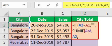 Excel-Group-Sum-Example-2-6