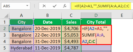 Excel-Group-Sum-Example-2-7