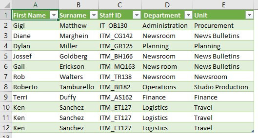 Excel Power Query Tutorial Example 1.13