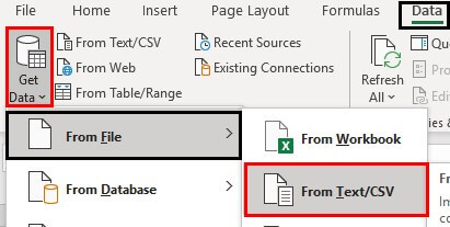 Excel Power Query Tutorial Example 1.16