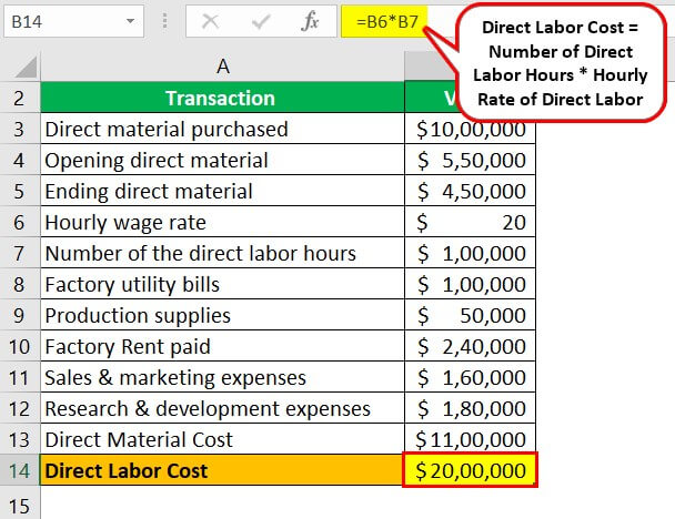 Factory Cost Example 1.2