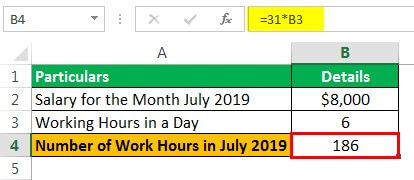 Holiday Pay Example 1